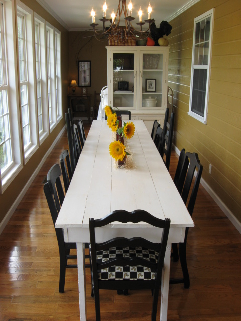 farmhouse kitchen tables cabinet manufacturers canada a pumpkin patch party - southern hospitality