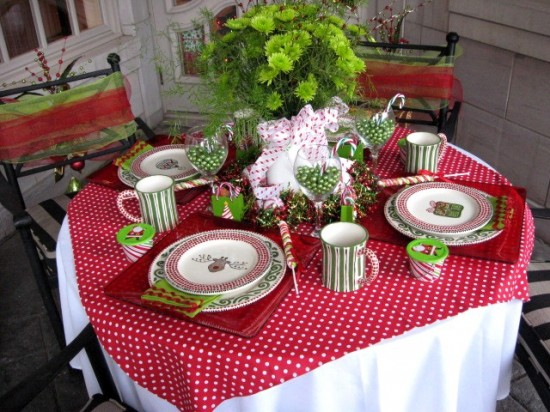 Holiday House: Christmas Tablescapes