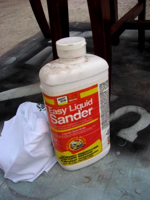 liquid sander