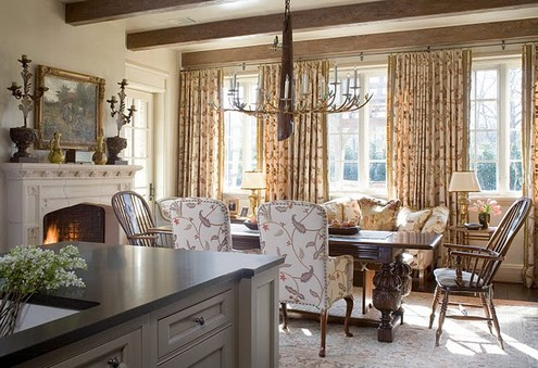 Feature friday the last southern accents showhouse for Morning room designs