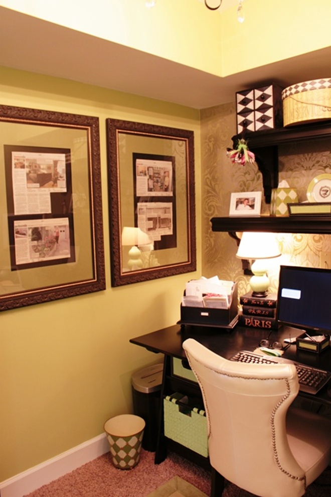 wallpapered office home design. Wonderful Home Save In Wallpapered Office Home Design