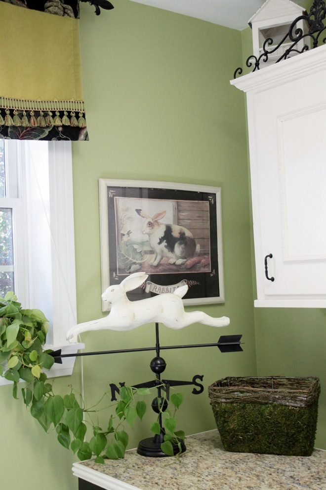 Lime Green Laundry Room Southern Hospitality