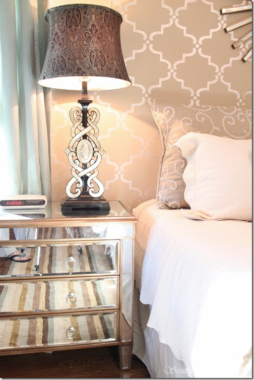 Glam Master Bedroom Source List Southern Hospitality