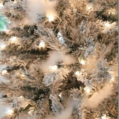 Redoing Kitchen Outdoor Kit Merry Christmas! A White And Silver Christmas Tree ...