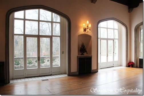 winter living room windows
