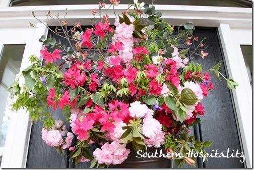 Fresh Florals front door