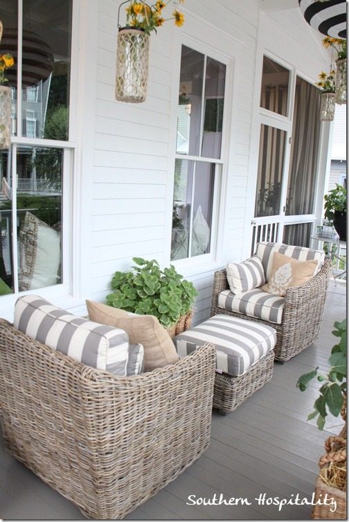 swing chair grey amazon swivel feature friday: ballard designs bosch house at serenbe - southern hospitality