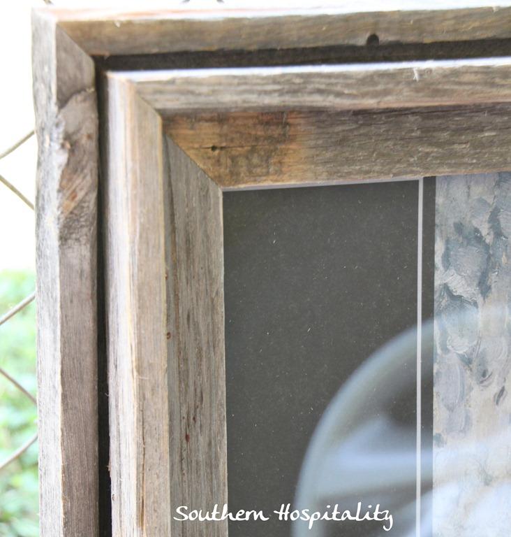 DIY Framing Botanicals - Southern Hospitality