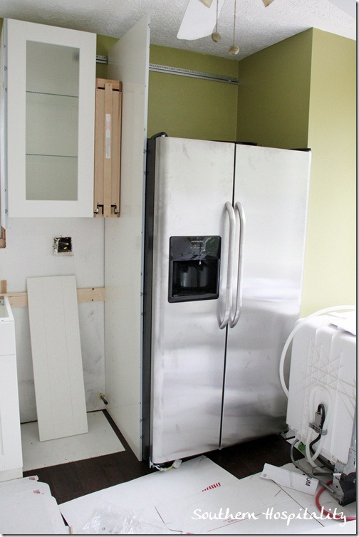 corner kitchen cabinet best brand name appliances week 18: house renovation: stainless steel and white ...