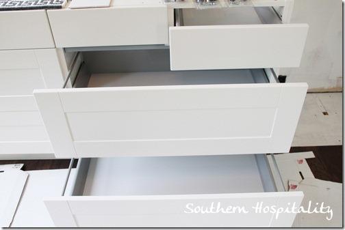 Ikea kitchen drawers installed