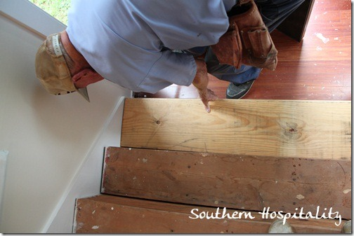 How To Install New Stair Treads