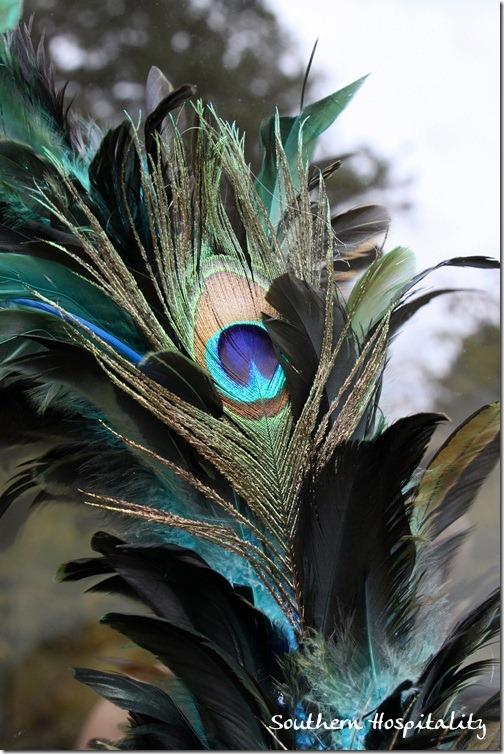 Kirklands peacock wreath