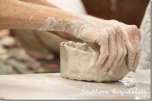 Pottery Class Cahaba ClayworksEarth Born Studio