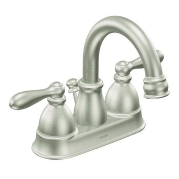 moen caldwell kitchen faucet wallpaper for backsplash mixing metals in home decor