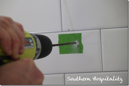 drilling through tile