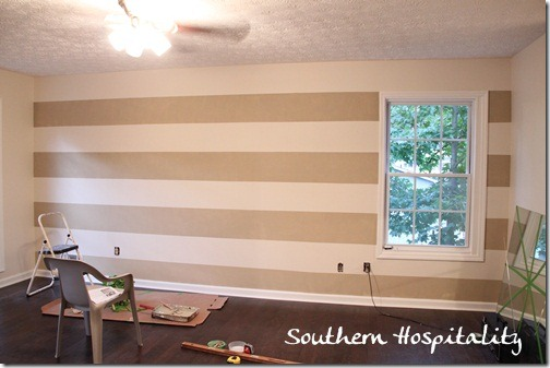 gingham paint treatment using frogtape