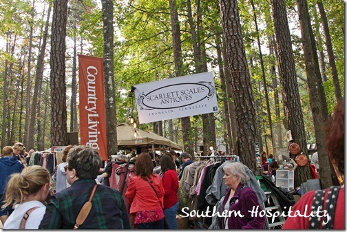 trees at Country Living Fair