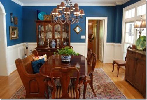 blue dining