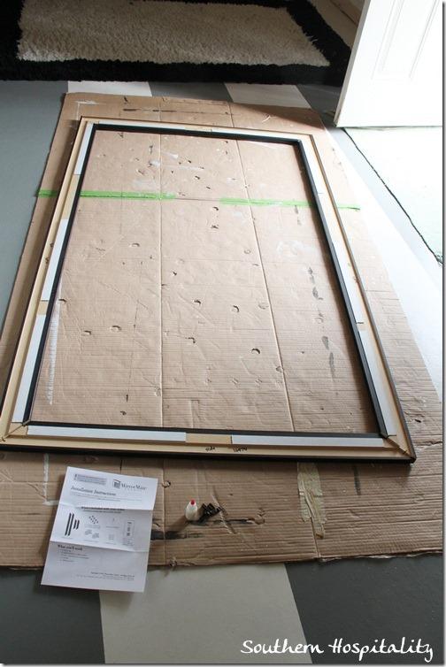 putting frame together