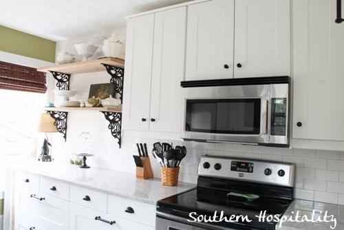 Ikea Kitchen Renovation Microwave Stove