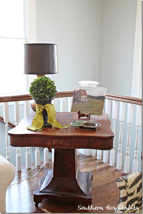 family room end table