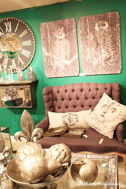 At HOme showroom