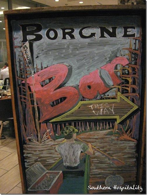 Borgne restaurant