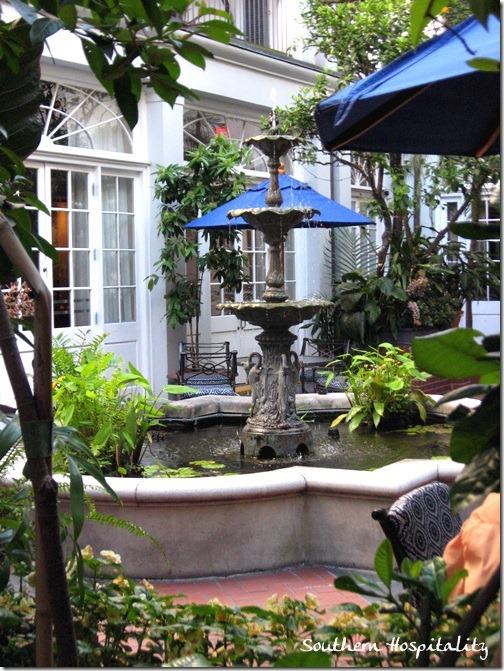 Royal Sonesta courtyard
