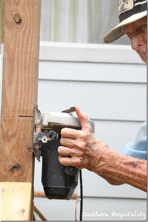cutting with skillsaw