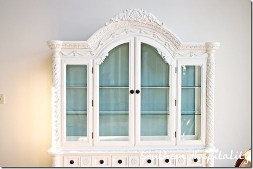 China Cabinet Painted