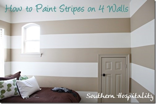 Painting Stripes On Walls Nursery Ideas Southern