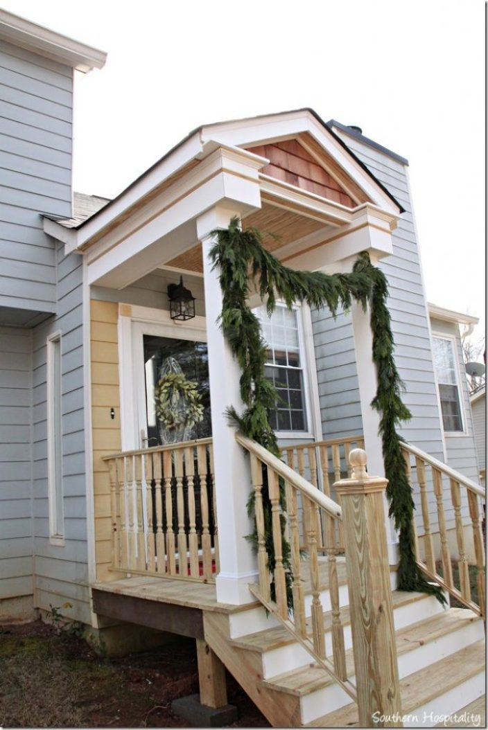 side view 2 front portico
