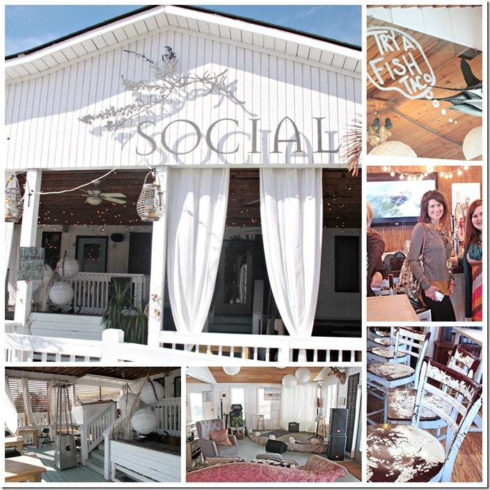 Social club collage