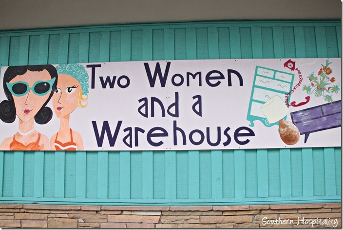 Two Women and Warehouse