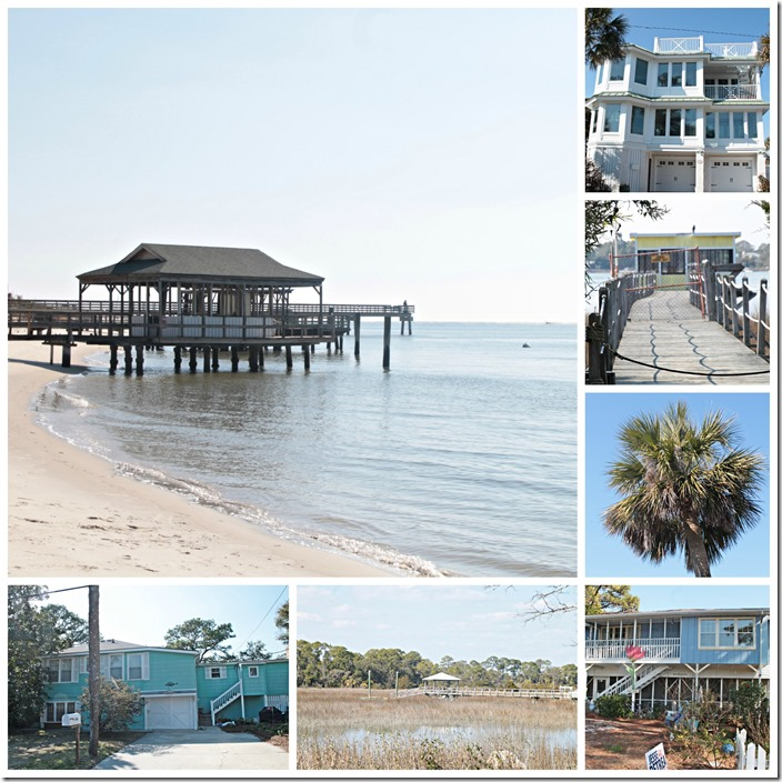 Tybee cottages collage
