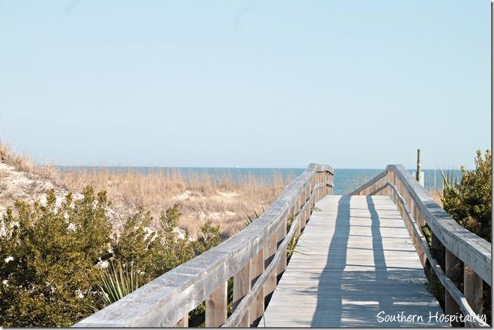 tybee beach boardwalk