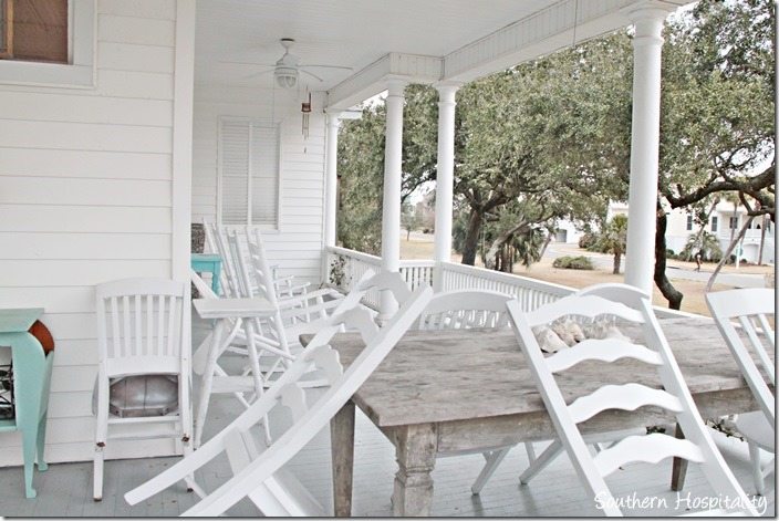 white caps porch