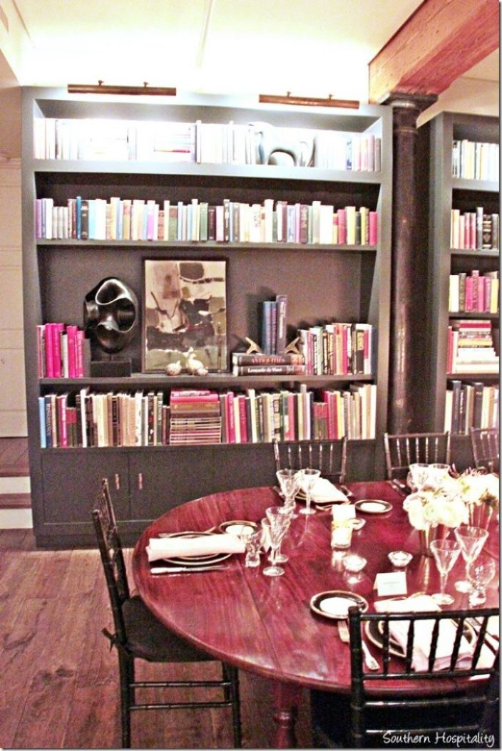 table and library