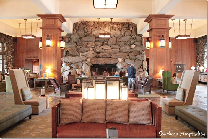 grove park lobby fireplace