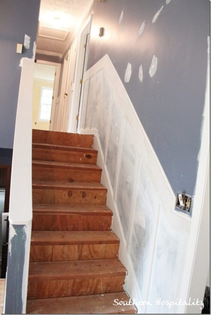 board and batten stairs