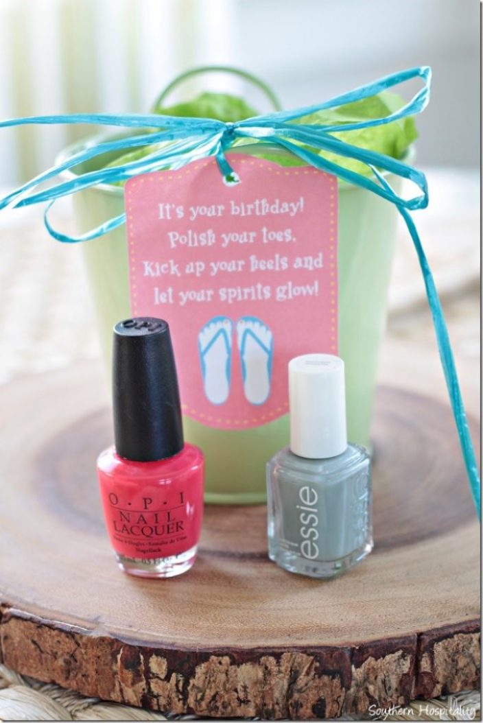 Girly Birthday Gift Ideas for $5 & Under! - Southern Hospitality