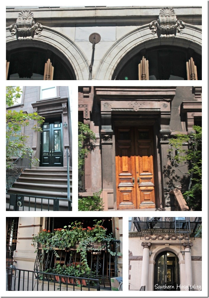 NY architecture Collage