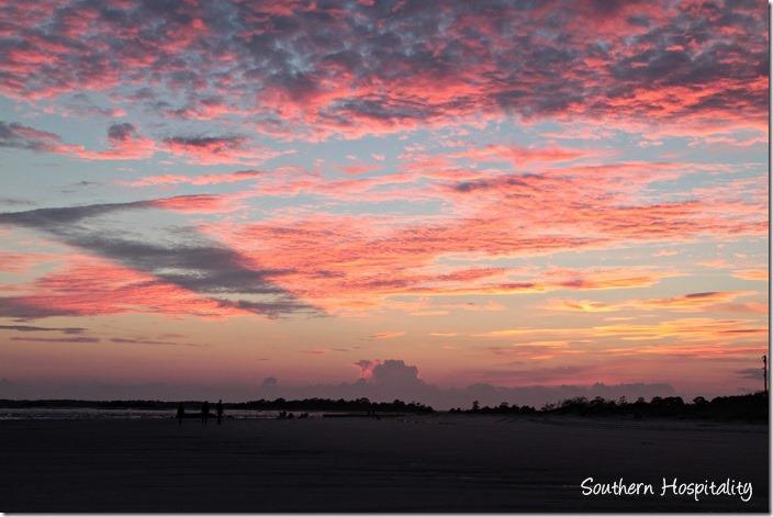 tybee sunset 3