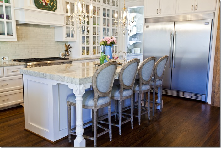 kitchen counter stools with backs diy refinish cabinets feature friday: cedar hill farmhouse - southern hospitality