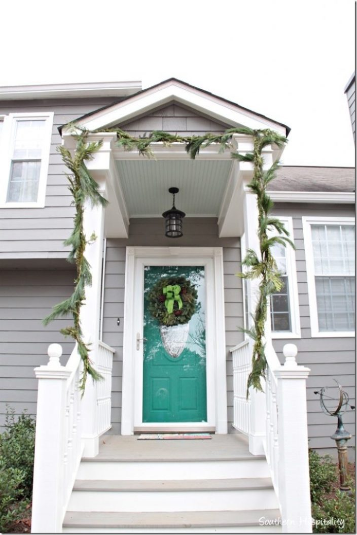 wreath and garland