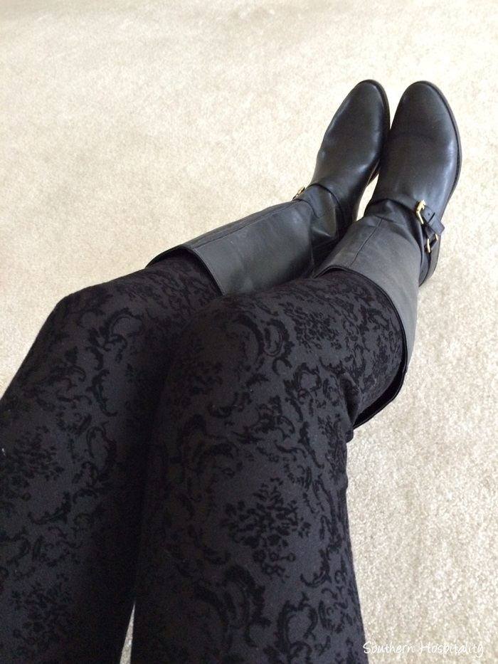 damask leggings