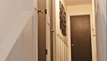 Painting interior doors a color southern hospitality painting interior doors black planetlyrics Choice Image