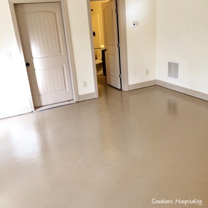 Painted Parquet Kitchen Floor: How To Paint A Concrete Floor