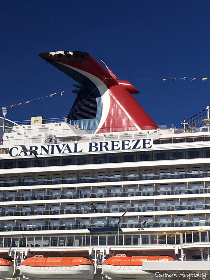 New Carnival Breeze Cruise Line Arrives In Miami: Cruise On The Carnival Breeze
