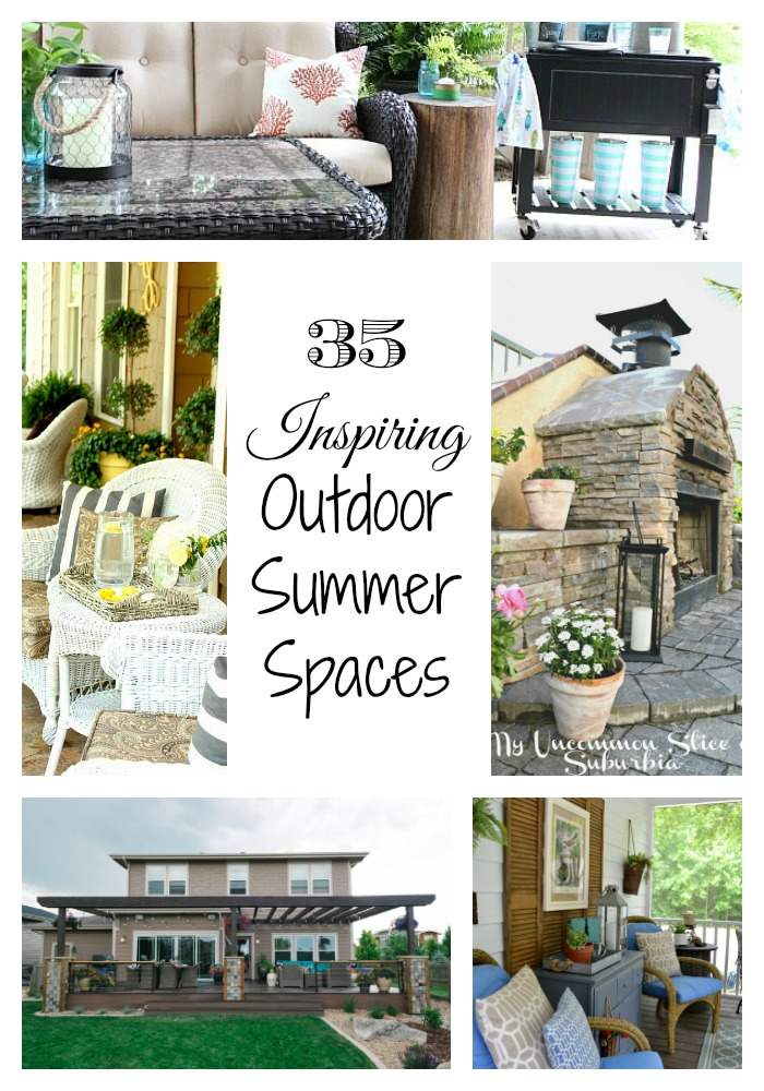 Outdoor Spaces Collage